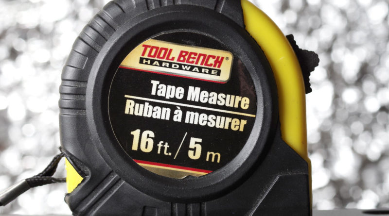 Tool Bench Hardware Tape Measure From Dollar Tree