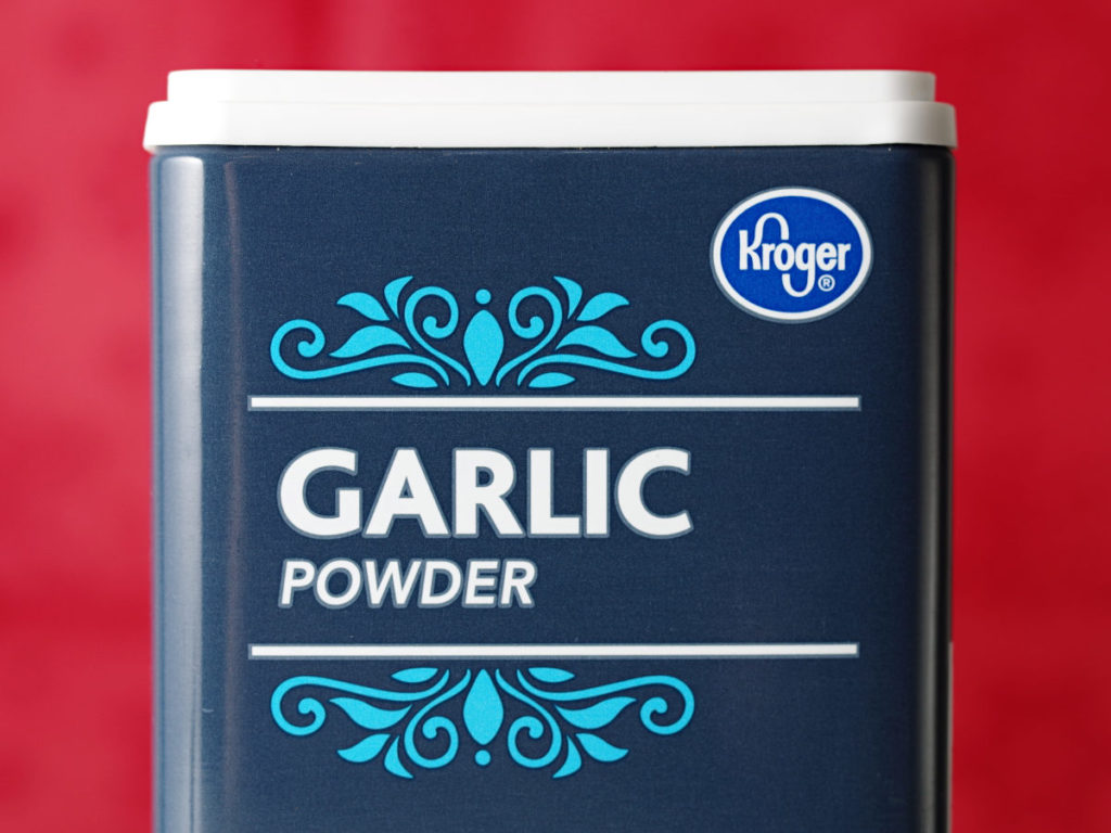 Minced Garlic To Garlic Powder