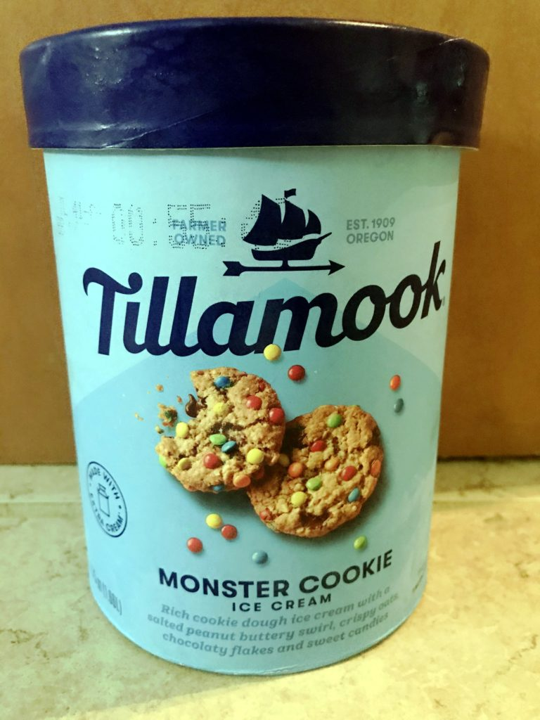 Tillamook Monster Cookie Ice Cream