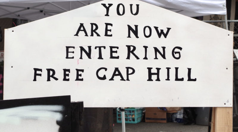 You Are Now Entering Free Cap Hill