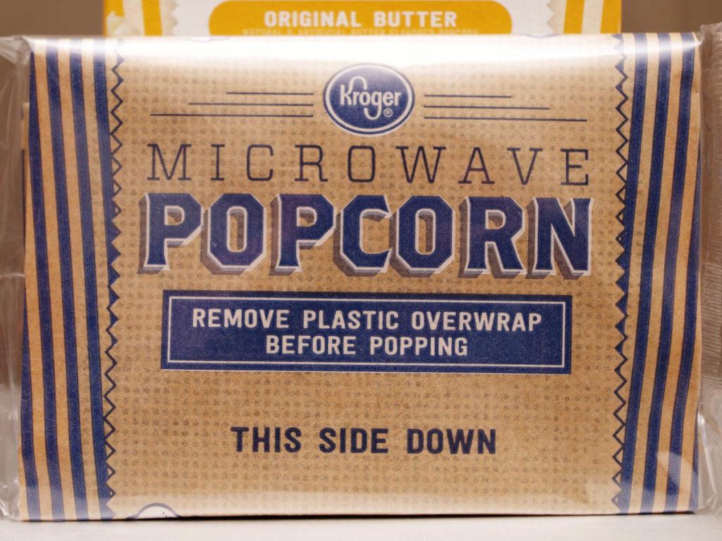 Kroger Microwave Popcorn Bag