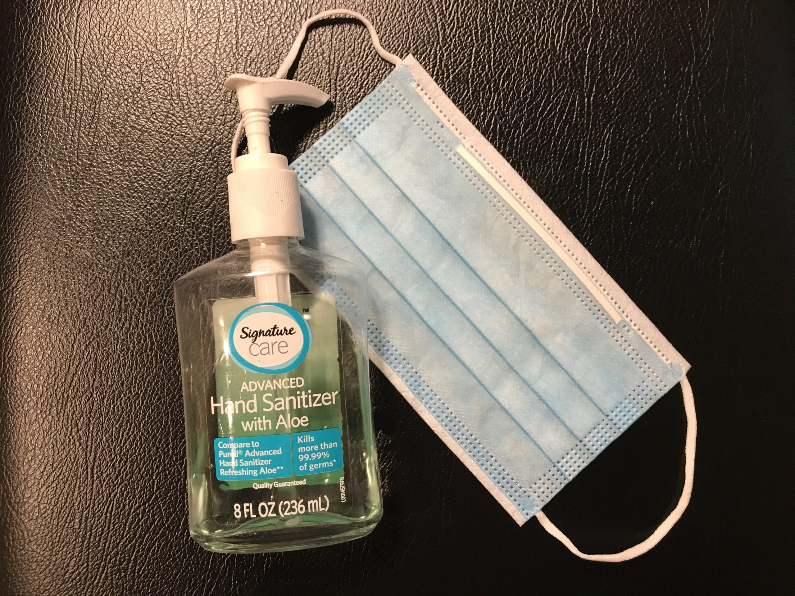 Intermask Facemasks & Safeway Hand Sanitizer