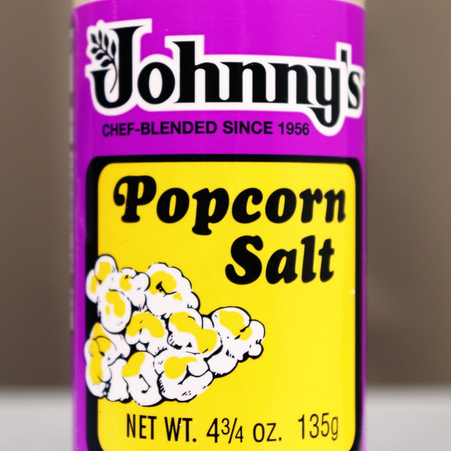 Johnny's Popcorn Salt 4.75 oz