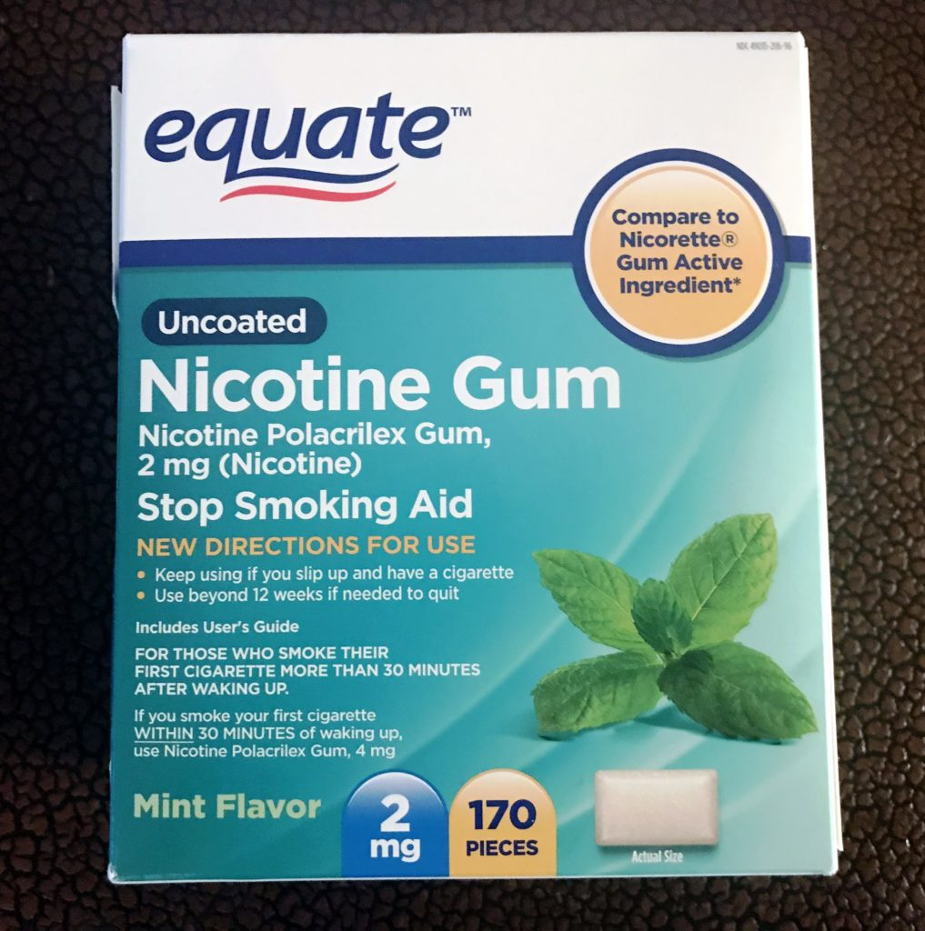 Equate Nicotine Gum