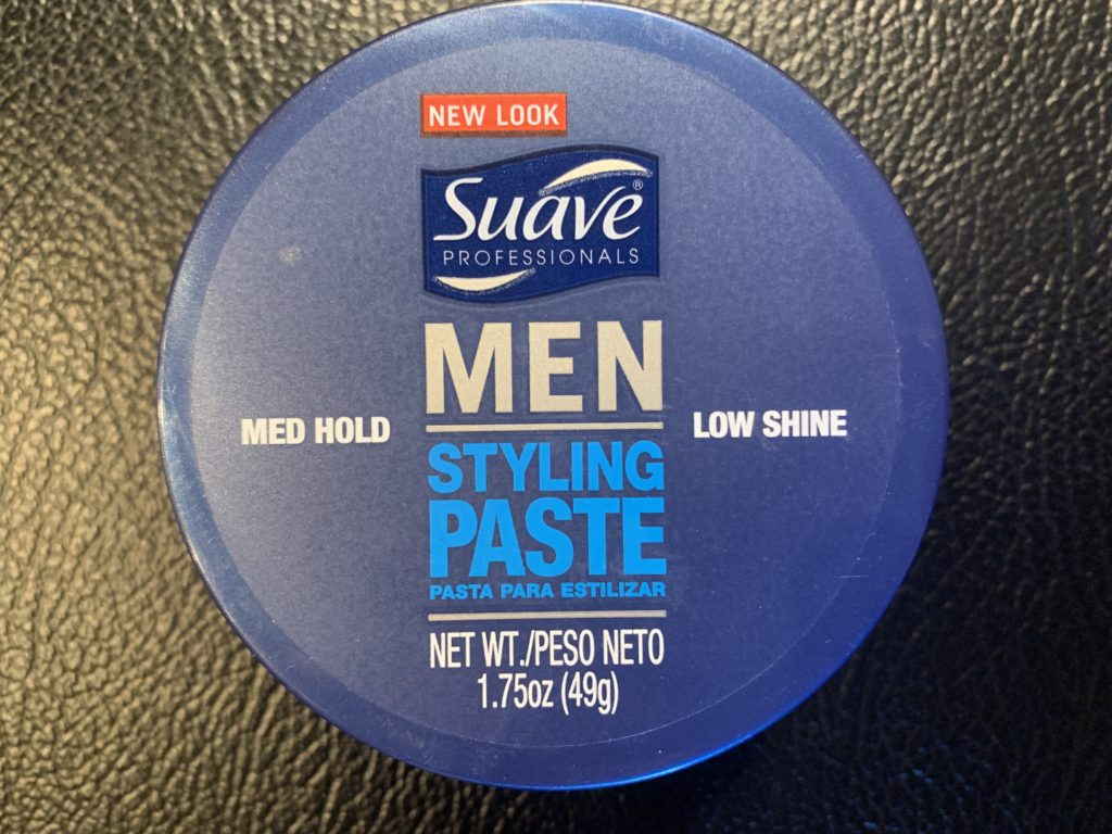 Suave Styling Paste Review