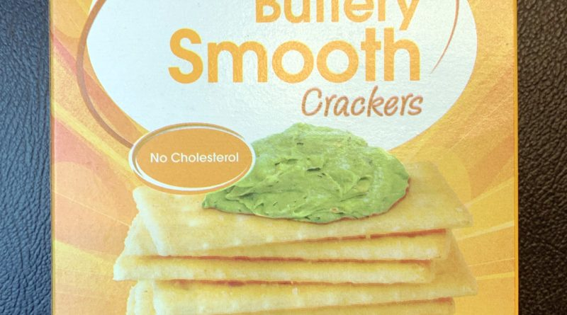 Great Value Buttery Crackers