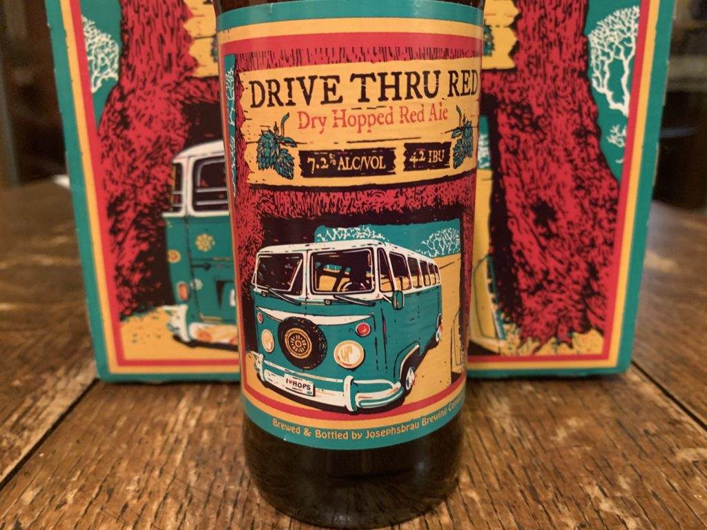 Drive Thru Red Dry Hopped Red Ale