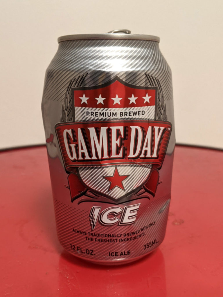 Game Day Ice, 2011 vintage, batch #1640, S/N 0148FL, empty can.