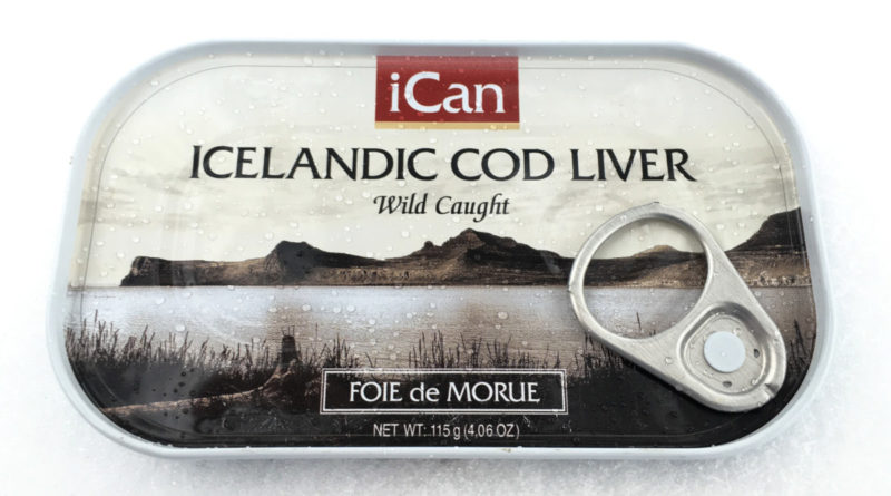 iCan Icelandic Cod Liver Can