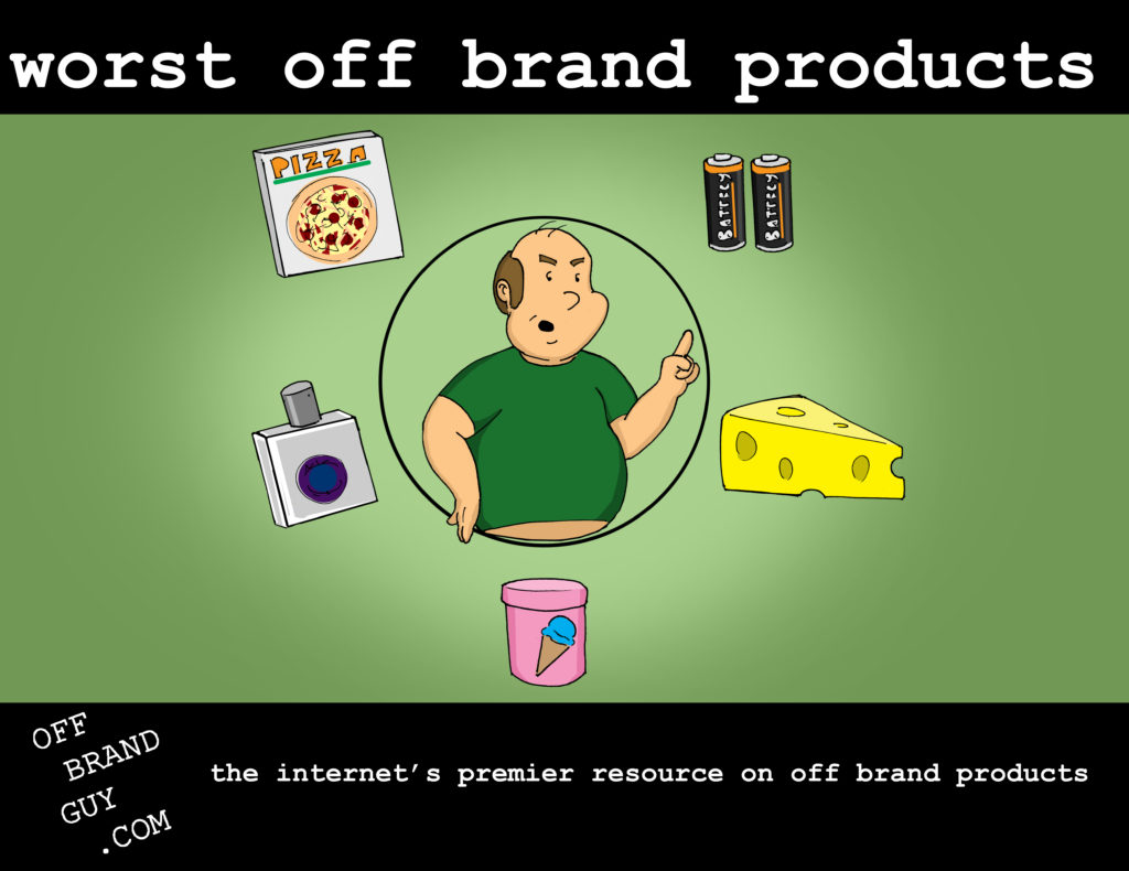 Off Brand Products Infographic